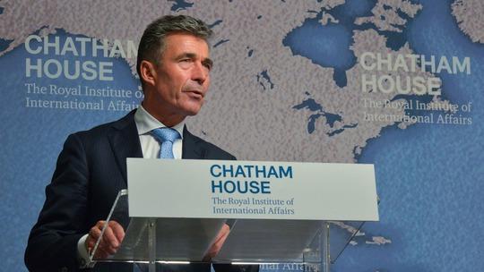 Tổng thư ký NATO Anders Fogh Rasmussen. Ảnh: Mashable