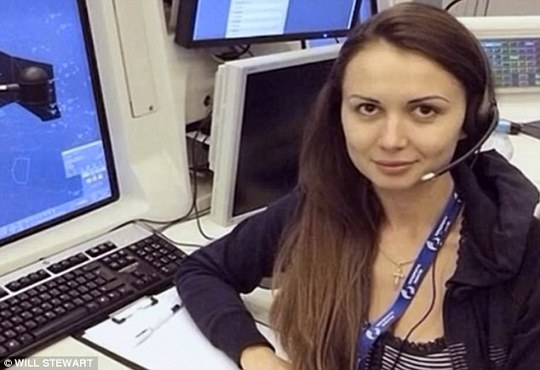Complicated claims: The Russian media is claiming that Anna Petrenko, an air traffic controllerin charge of the Malaysian Airlines MH17 flight at the time of the crash, has fled to Dubai with the Ukranian army pilot who shot down MH17 on order of Ukranian billionaire oligarch