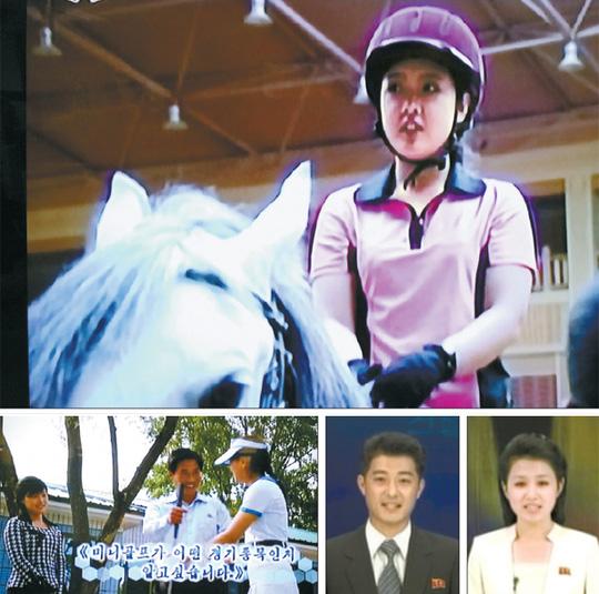 Một chương trình truyền hình được yêu thích ở Triều Tiên. Ảnh: KCTV