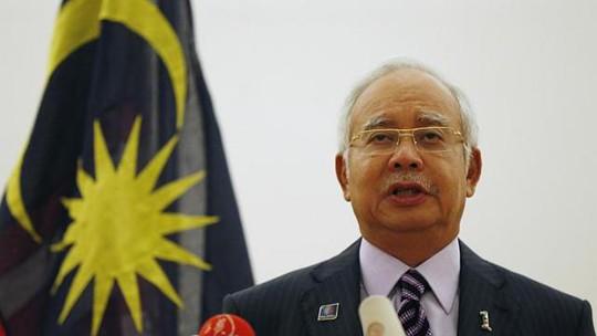 Thủ tướng Malaysia Najib Tun Razak. Ảnh: Reuters