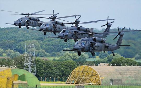 Không quân Hoàng gia ở Anh - một trong những căn cứ liên quan đến vụ điều tra tàng trữ ma túy của Không quân Mỹ. Ảnh: PA