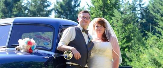 Người vợ xinh đẹp của anh Dylan Benson đang bị chết não khi mang thai được 22 tuần. Ảnh: Huffington Post