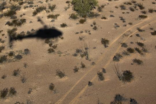 Một trực thăng Mexico vừa nã đạn vào 2 đặc vụ Mỹ tại khu vực biên giới 2 nước hôm 26-6. Ảnh: Time.com