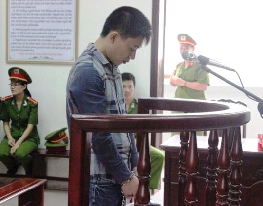Nguyễn Trọng Phương trước vành móng ngựa