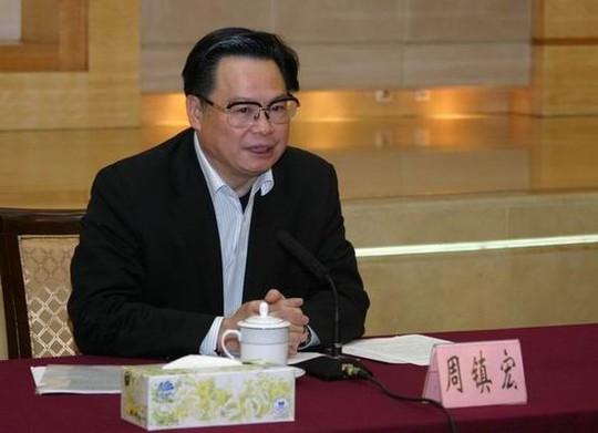 Quan tham Chu Trấn Hoành. Ảnh: China.org.cn