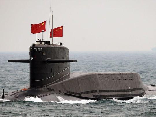 Một tàu ngầm của Hải quân Trung Quốc. Ảnh: Asia News