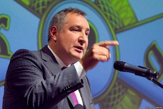 Phó Thủ tướng Nga Dmitry Rogozin. Ảnh: RFERL