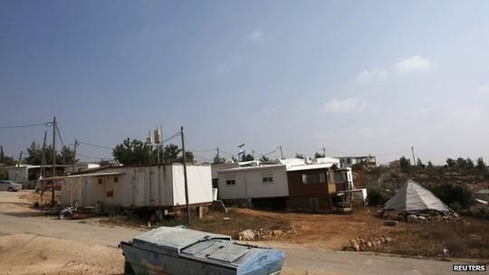 Israel tuyên bố xây dựng khu định cư Do Thái mới trên vùng đất 400 héc-ta chiếm đóng ở Bờ Tây. Ảnh: Reuters