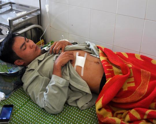 Nguyễn Quốc Duy tại bệnh viện