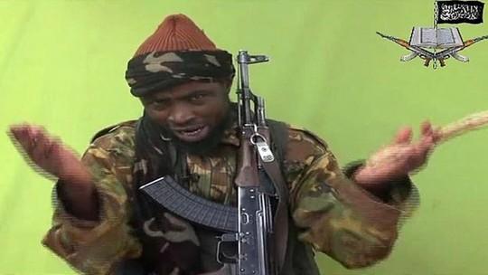 Lãnh đạo Boko Haram Abubakar Shekau. Ảnh: BBC