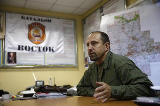 Chỉ huy Alexander Khodakovsky. Ảnh: Reuters