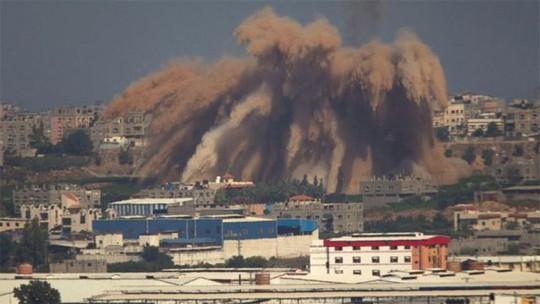 Hamas không chấp nhận xuống thang căng thẳng tại Dải Gaza. Ảnh: AP