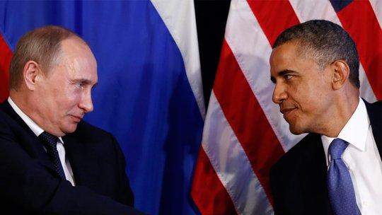 Quan hệ Nga - Mỹ căng như kẻ chỉ sau cuộc khủng hoảng Ukraine. Ảnh: Reuters