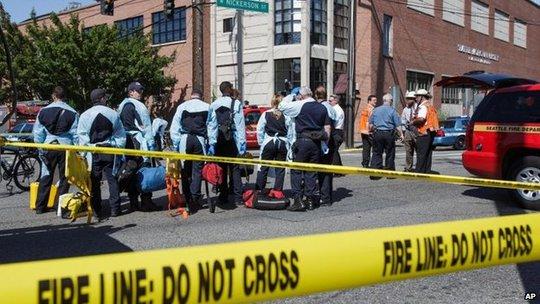 Đại học Seattle, nơi xảy ra vụ xả súng hôm 5-6. Ảnh: AP