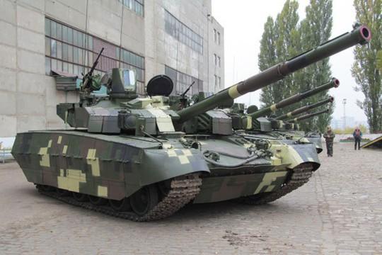 Xe tăng của quân đội Ukraine. Ảnh: RP Defense