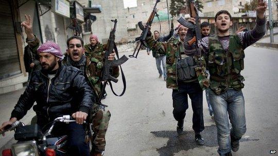 Quân nổi dậy chiếm được Idlib năm 2012 nhưng lại nhanh chóng mất kiểm soát. Ảnh: AP
