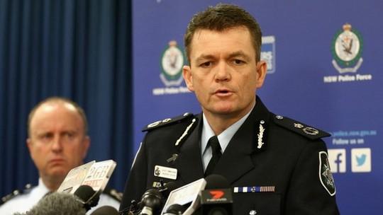 Ủy viên Cảnh sát Liên bang Úc Andrew Colvin. Ảnh: BBC