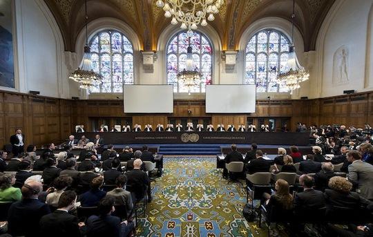 Tòa án Trọng tài Quốc tế ở The Hague - Hà Lan. Ảnh: Reuters