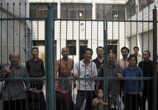 Một nhà tù ở ngoại ô Bắc Kinh. Ảnh: Reuters