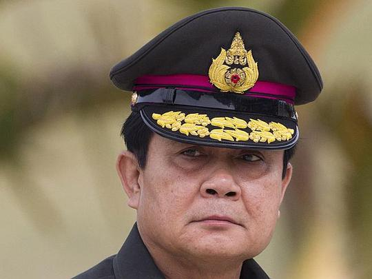 Prime Minister Prayuth Chan-ocha.