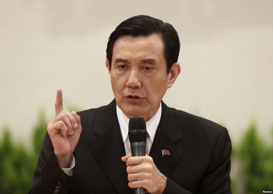 Tổng thống Đài Loan Mã Anh Cửu. Ảnh: Reuters