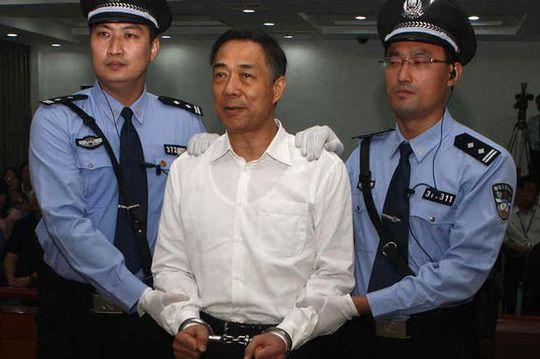 Một trong những vụ tham nhũng lớn nhất Trung Quốc liên quan đến chính trị gia Bạc Hy Lai. Ảnh: Mirror