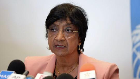 Bà Navi Pillay. Ảnh: Reuters