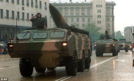 Quân đội Nga trong một cuộc tập trận quân sự. Ảnh: AP