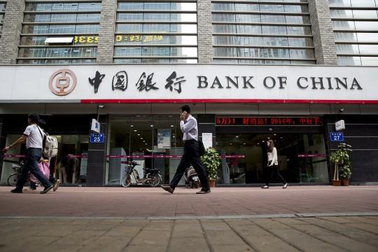 Ngân hàng Trung Quốc bị CCTV tố rửa tiền. Ảnh: Wall Street Journal
