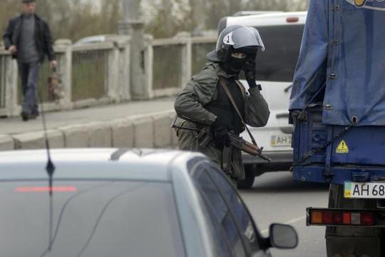 Căng thẳng ở miền Đông Ukraine tiếp tục leo thang. Ảnh: Reuters