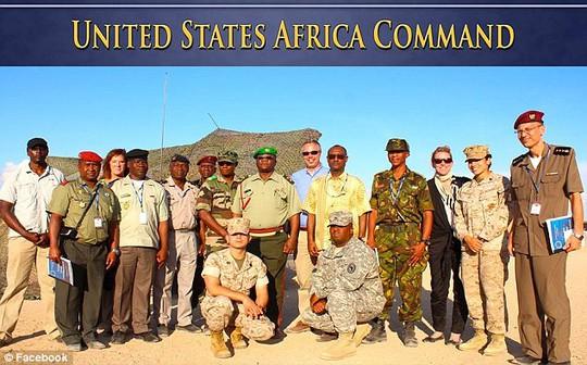 Một số thành viên của Bộ Tư lệnh Hoa Kỳ đặc trách châu Phi (AFRICOM). Ảnh: Facebook