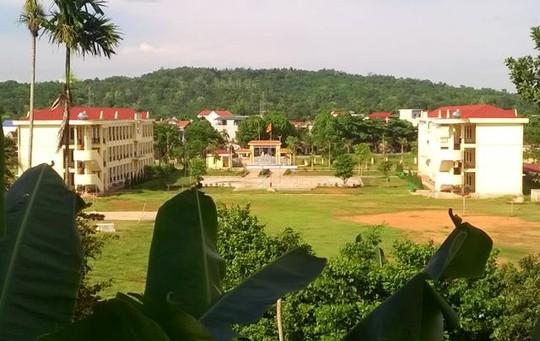 Trường THPT Ngọc Lặc - Thanh Hóa. Ảnh facebok