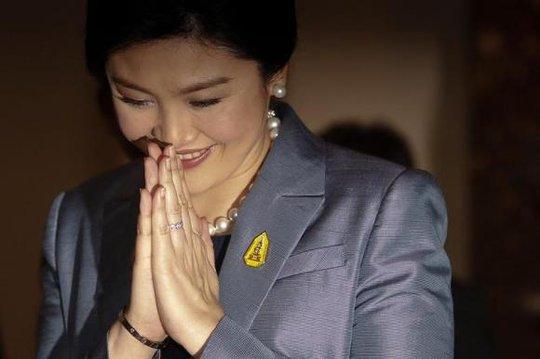 Cựu Thủ tướng Yingluck Shinawatra được phép đi du lịch nước ngoài với điều kiện không tham gia hoạt động chính trị. Ảnh: Reuters