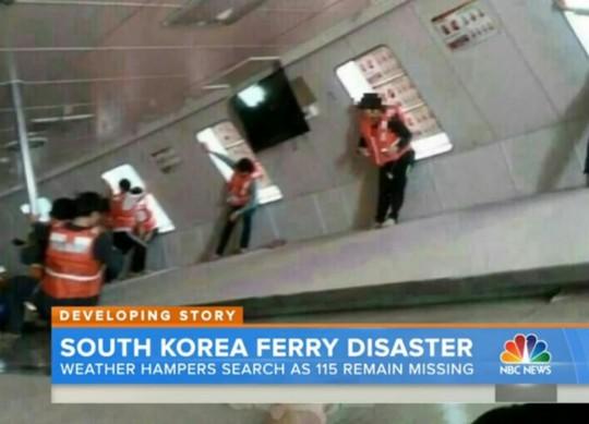 Những hình ảnh cuối cùng trong tàu Sewol