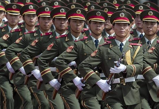 Lực lượng PLA Trung Quốc. Ảnh: Asian-Defence