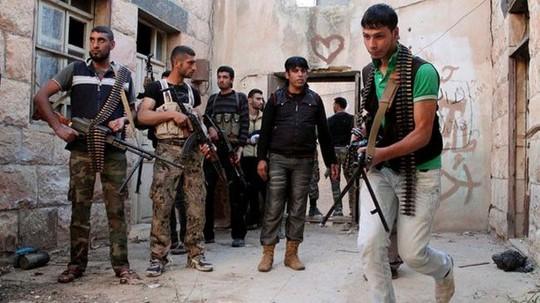 Mỹ, Ả Rập Saudi và Jordan đang hậu thuẫn cho phiến quân nước ngoài chống lại chính phủ Syria. Ảnh: Press TV