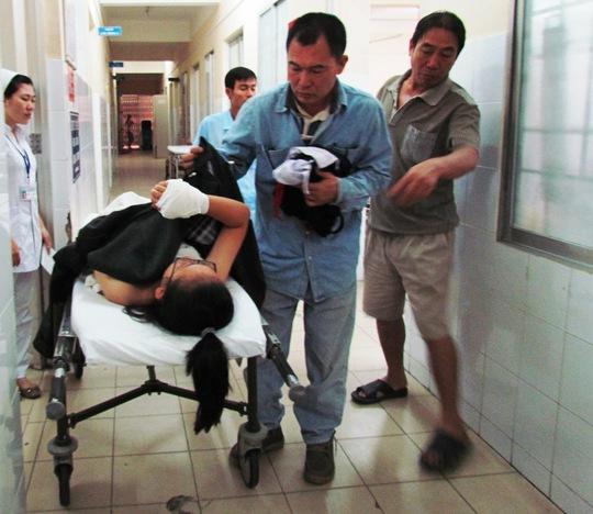 M. được cấp cứu tại bệnh viện