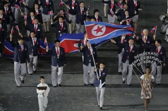 Triều Tiên tham dự Thế vận hội 2012. Ảnh: AP