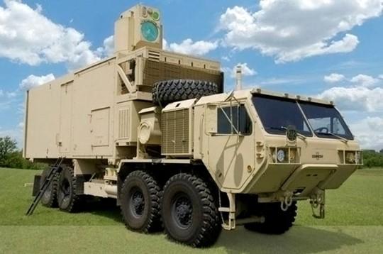 Quân đội Mỹ sẽ có thêm loại vũ khí laser mới hoạt động trong điều kiện gió và sương mù. Ảnh: Washington Times