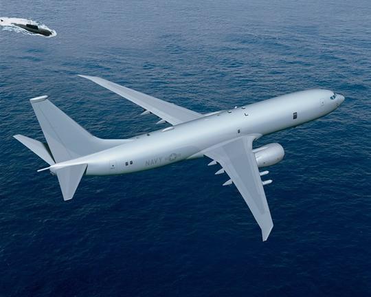 Một chiếc P-8 Poseidon của Không quân Mỹ. Ảnh: Defence Industry Daily