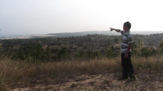 Khu đất mà UBND tỉnh Bình Thuận thu hồi sau khi giao cho Công ty South Fork