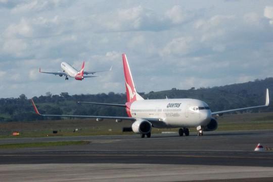 Máy bay của hãng hàng không Qantas. Ảnh: ABC News