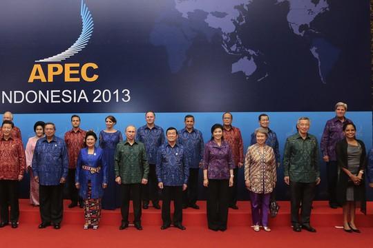 APEC 2013 tại Indonesia. Ảnh: AP