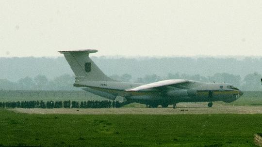 Máy bay vận tải Il-76 của Ukraine. Ảnh: RIA Novosti