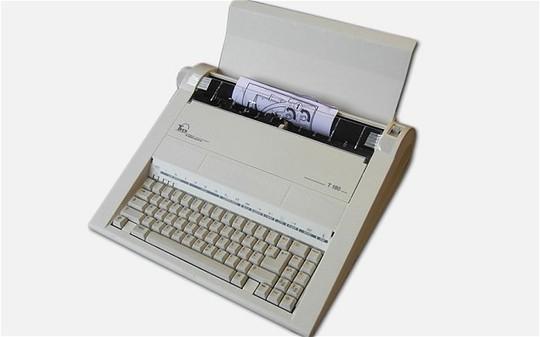 Máy đánh chữ Triumph Adler Twen 180 do Đức sản xuất từng được Điện Kremlin (Nga) sử dụng để tránh bị nghe trộm. Ảnh: Telegraph
