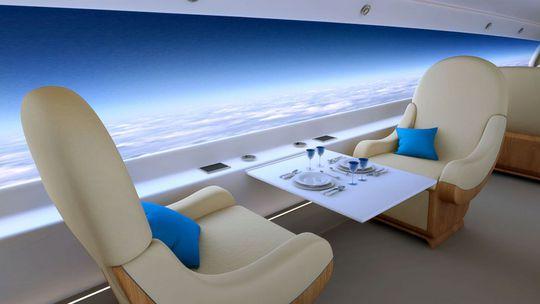 Màn hình hiển thị hiện đại trong cabin máy baySpike S-512. Ảnh:Spike Aerospace