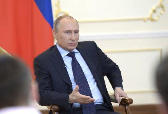 Tổng thống Nga Vladimir Putin cũng có mặt trong danh sách đề cử giải Nobel Hòa bình năm 2014. Ảnh: Reuters