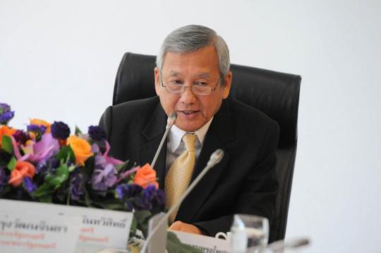 Bộ trưởng Thương mại Thái Lan Niwattumrong Boonsongpaisan được bổ nhiệm làm tân Thủ tướng Thái Lan hôm 7-5. Ảnh: The Nation