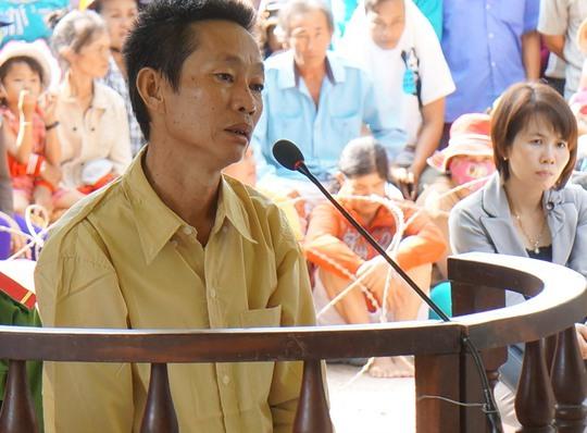 Bị cáo Nguyễn Văn Hiền tại phiên tòa