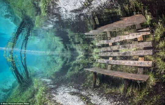 Công viên nửa năm nằm trên cạn, nửa năm dưới lòng hồ 6